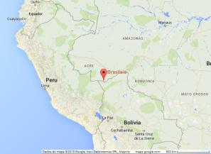 maps.google.com Brasileia, Acre