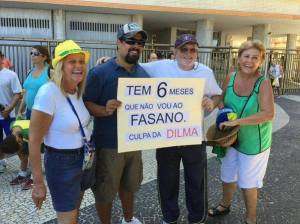 Fonte: Página Facebook - Humans of Protesto