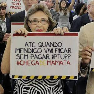 Fonte: Página do Facebook - Humans of Protesto