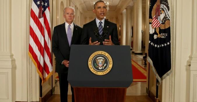 Obama e Biden Casa Branca